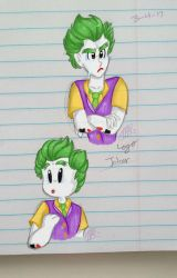 Gay clown son by Lexie-Starbeam
