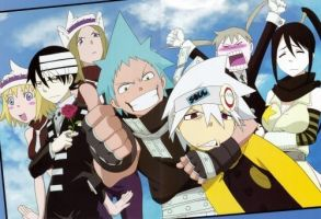 Soul Eater Group by ProfessorrStein