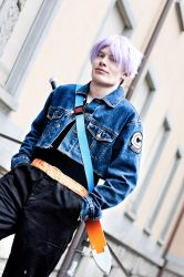 Dragonball - Trunks by abolechander