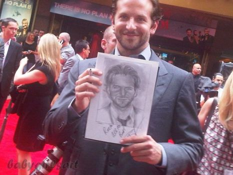 Meeting Bradley Cooper by babygirlsart