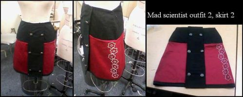 Mad scientist outfit 2 skirt 2 by QuestionableKristina