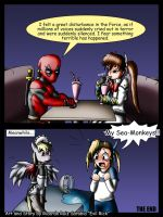Deadpool and Nanoha issue 11 by Evil-Rick