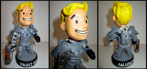 Fallout  3, Power Armour Bobblehead. by APlaceForStuff