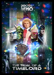 Doctor Who - The Trial of a Timelord Poster by GrantBattersby
