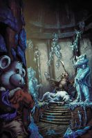 Flurry The Bear-The Throne Of Frost by Tonywash