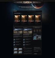 SHOGN Network Website by Evil-S
