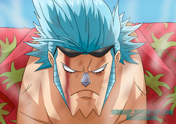 OnePiecectober, day 8: Franky by SergiART