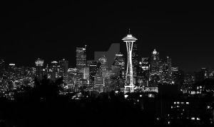 Seattle skyline by gadgetsguru