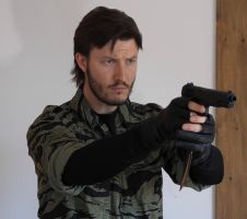 MGS3 Snake Eater Naked Snake Cosplay 1 by GeorgeSears1972