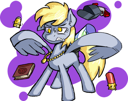 Derpy enters the Gungeon! by Signal15