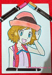 Hey There~Serena by TheKalosQueenSerena