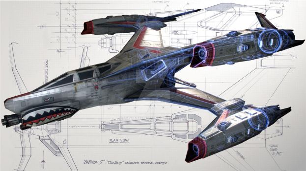 Thunderbolt and Sketches by TOMCF