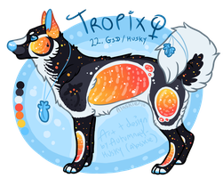 Tropix ~ Ghostly-NightGale (CLOSED) by Autumnal-Husky