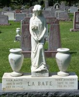 Mount Olivet Cemetery Woman 201 by Falln-Stock