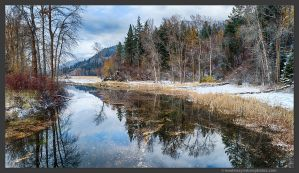 Old Goat River Channel 1 by kootenayphotos