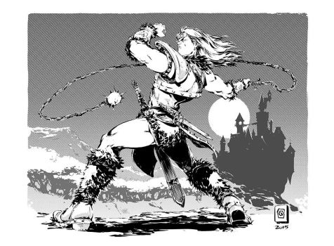 Simon Belmont by Smolb