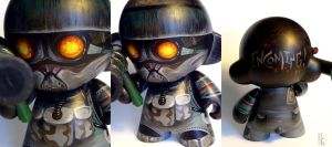Helghast Munny by bryancollins