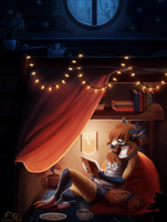 Past Bedtime by Flemaly