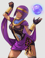 Commission Menat Color by AlpacaCarlesi