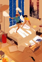 Snow days are the best! by PascalCampion