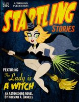 Startling Stories Witch by belledee