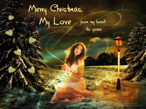 merry christmas my love by humbleluv on deviantart