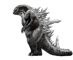 Unused Godzilla design by vcubestudios