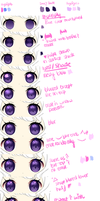 Eyes Tutorial by Purrsephone-Kitten