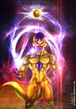 freeza Gold Form by Grapiqkad