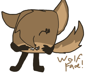 Wolf Face by TheAwesomestPikachu