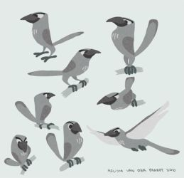 Mockingbird Concept Art by sketchinthoughts