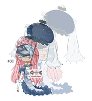 [open] .: 003 :. Auction - Umbrillia by Plushie-adopts