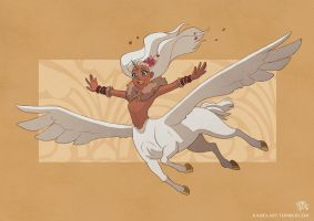First Flight by Kaisel