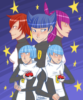 i choose you, team galactic by fishuu
