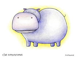 11 Hippo by SheilaSunshine