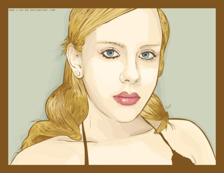 Vector Portrait by J-Ro-20