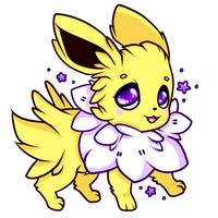 Jolteon by CutePastelStars