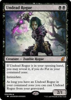 Undead Rogue (January 2018 monthly contest) by d-conanmx