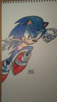 Sonic by offman89