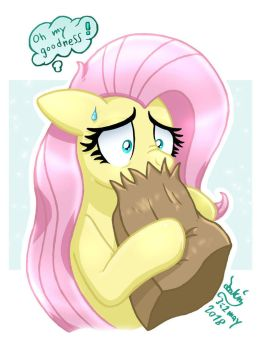 MLP FIM - Fluttershy Stage Fright by Joakaha