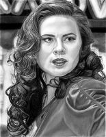 Hayley Atwell as Agent Carter 7-31-16 by khinson