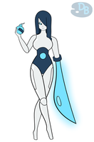 Recycler CM: Robo-Kaitlin by DB-Palette