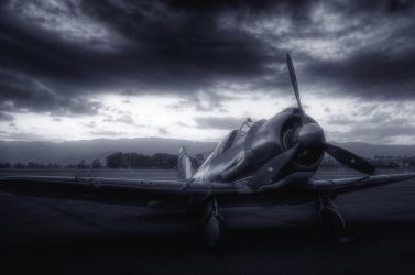 WW2 fighter aircraft by RichardjJones
