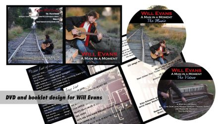 DVD Cover, Booklet, and DVD Labels by LeeAnneKortus