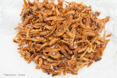 Roasted dried anchovies by patchow