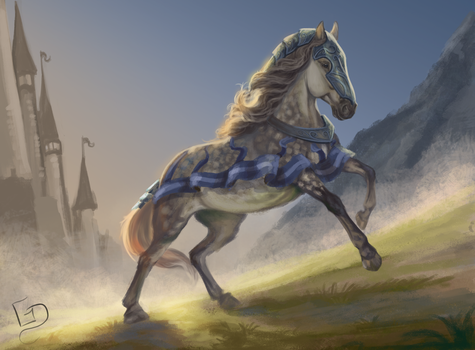 #Equinemarch 27: Medieval by Dalgeor