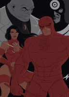 Daredevil: The Animated Series by Hal-2012