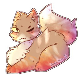 (Adoptions)A cat that cost 28 point. by NotThatBackup