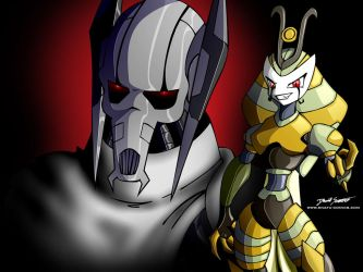 for CDB2: Grevious and Vexus by SnafuDave