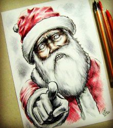 merry christmas - santa claus by juank91